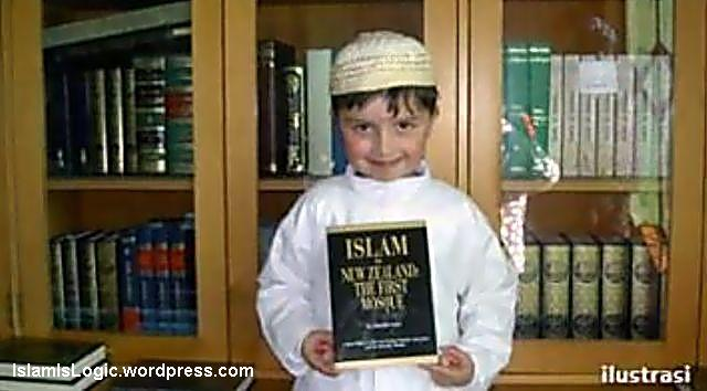 anak kecil muslim