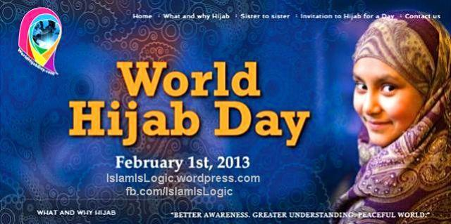 hari hijab jilbab dunia