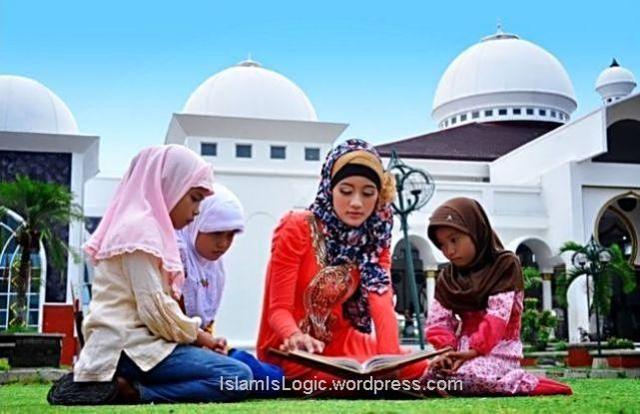 hijab ngaji muslimah