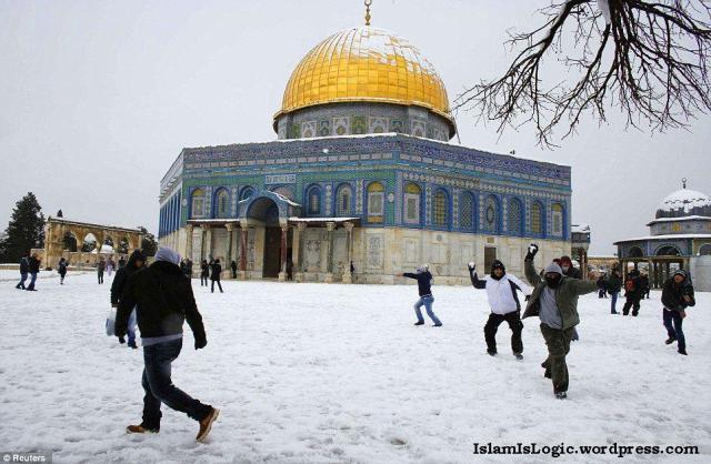 Salju 2013 di Arab 02