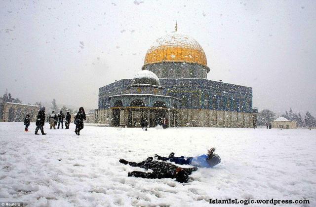 Salju 2013 di Arab 03
