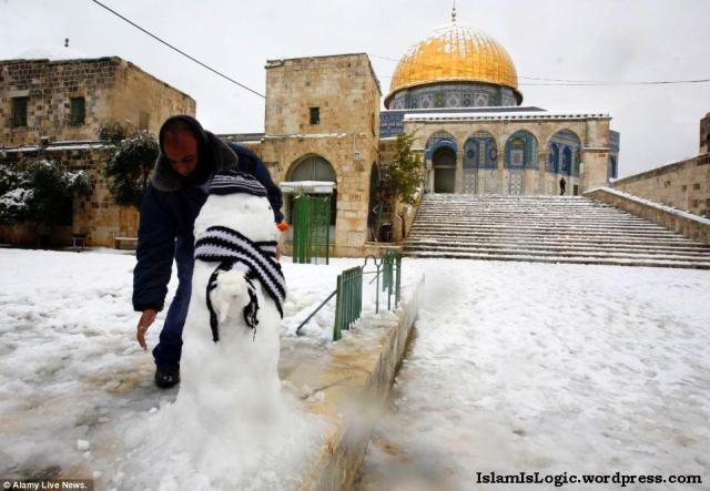 Salju 2013 di Arab 05