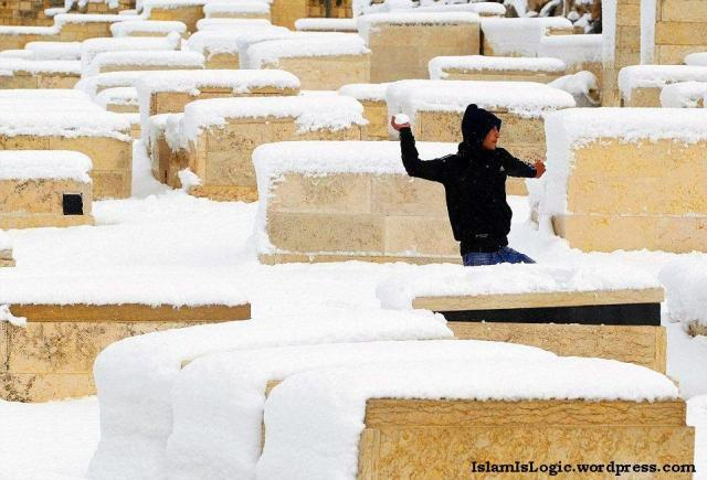 Salju 2013 di Arab 07