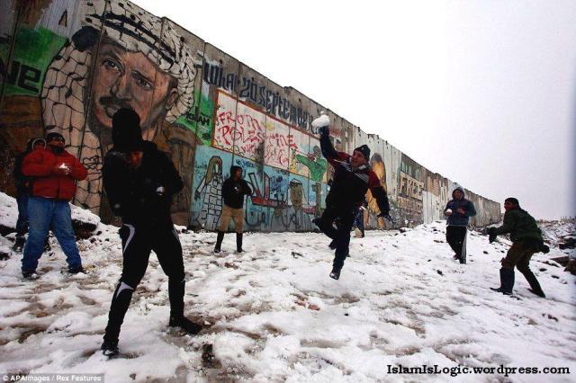 Salju 2013 di Arab 08
