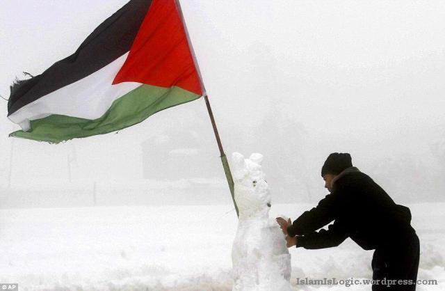 Salju 2013 di Arab 09