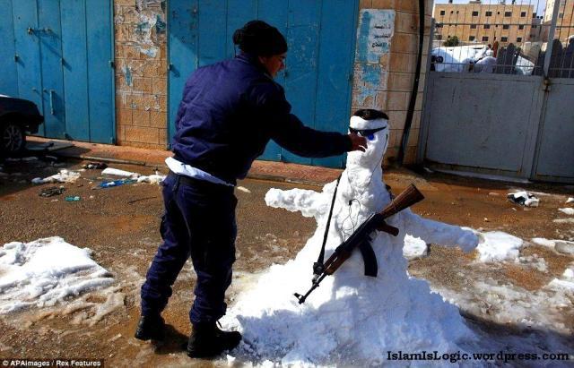 Salju 2013 di Arab 13