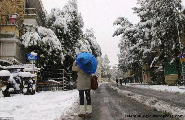 Salju 2013 di Arab 14