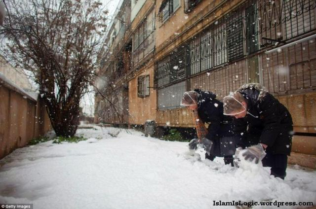 Salju 2013 di Arab 17