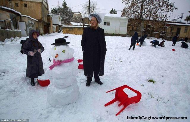 Salju 2013 di Arab 18