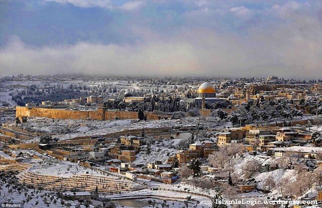 Salju 2013 di Arab 29
