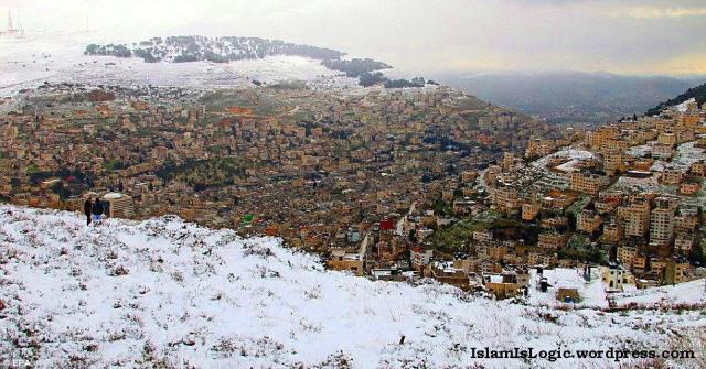 Salju 2013 di Arab 30