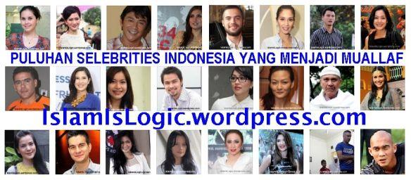 Daftar Sementara Selebriti Mualaf Indonesia Guide Us To The Straight Path Qs 1 6