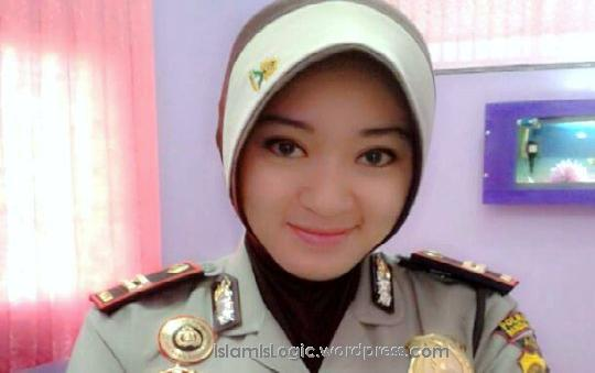 polwan jilbab hijab wanita polri polisi wanita