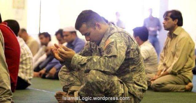 islam muslim amerika-shalat
