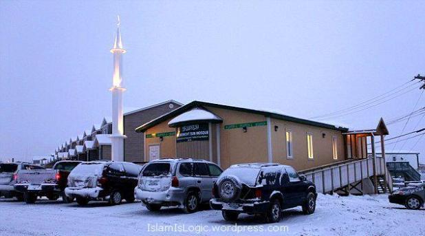 masjid Winnipeg-Inuvik Kanada