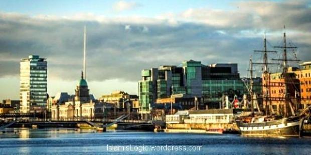 Pemandangan salah satu sudut ibu kota Irlandia, Dublin (dublindailyphotos.com).