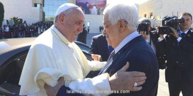 Paus Fransiskus dan Mahmud Abbas