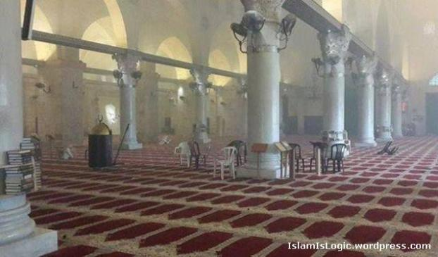 Almost 300 Israeli soldiers stormed Masjid-al Aqsa with their army boots