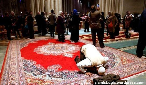 First Pray in National Cathedral Washington 02