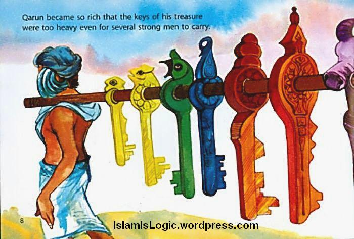 kisah qarun pemilik harta karun orang terkaya zaman nabi