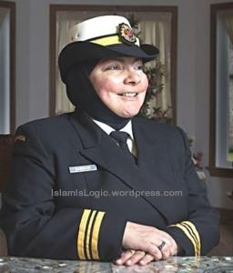 Lt.. Commander Wafa Dabbagh.