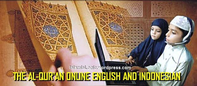 THE AL-QUR'AN ONLINE ENGLISH AND INDONESIAN-03