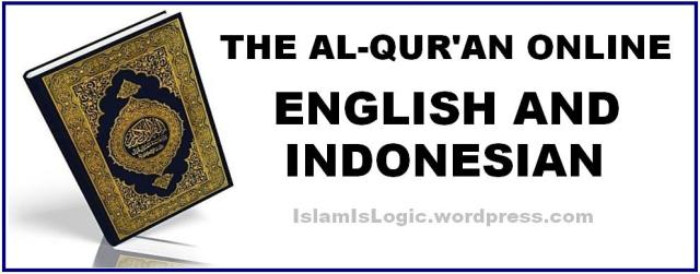 THE AL-QUR'AN ONLINE ENGLISH AND INDONESIAN 1
